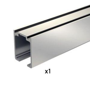 Rail pour porte coulissante achat vente rail pour - Rail en aluminium pour porte coulissante ...