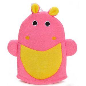 GANT DE TOILETTE Gant de toilette hippopotame enfant bébé