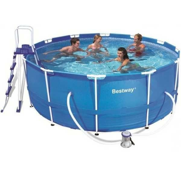 Piscine hors sol tubulaire bestway achat vente kit piscine pis - Piscine hors sol prix discount ...
