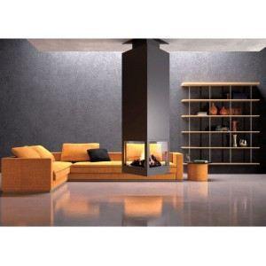 po le chemin e centrale design triangulaire et achat vente po le insert foyer. Black Bedroom Furniture Sets. Home Design Ideas