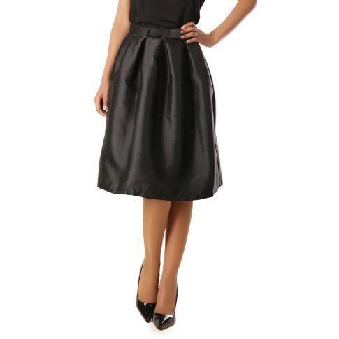 jupe patineuse taille haute noir noir achat vente jupe kilt cdiscount. Black Bedroom Furniture Sets. Home Design Ideas