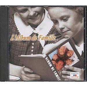CD VARIÉTÉ FRANÇAISE L'album de famille