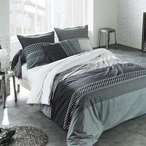 lit deux personnes moderne achat vente lit deux personnes moderne pas cher cdiscount. Black Bedroom Furniture Sets. Home Design Ideas