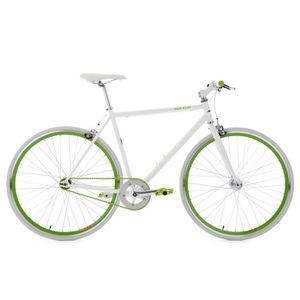 VÉLO DE COURSE - ROUTE Fitnessbike 28'' Flip Flop blanc-vert 53 cm KS Cyc