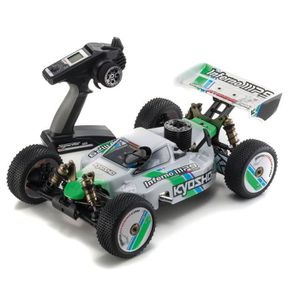 VAISSEAU SPATIAL KYOSHO INFERNO MP9 TKI3 4WD Readyset - Véhicule ra