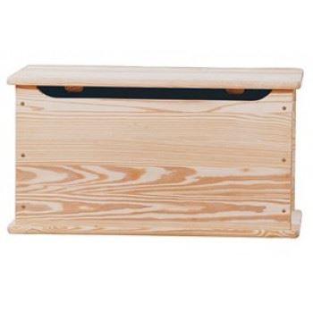 Coffre de rangement en pin brut coffre achat vente - Coffre de rangement interieur ...