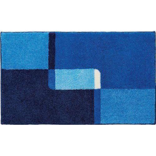 tapis de bain bleu 70x120 achat vente tapis de bain bleu 70x120 pas cher cdiscount. Black Bedroom Furniture Sets. Home Design Ideas