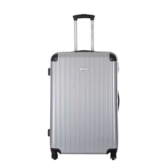 pascal morabito valise anile argent taille achat vente valise bagage 3607070655429. Black Bedroom Furniture Sets. Home Design Ideas
