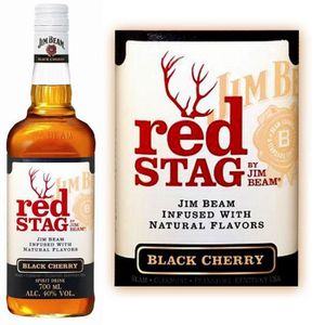 WHISKY BOURBON SCOTCH Jim Beam Red Stag  70cl 40%