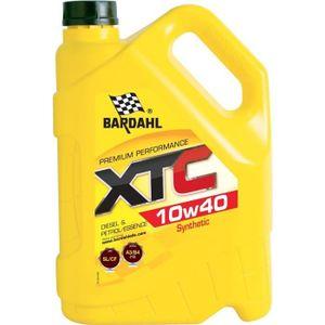 BARDAHL XTC 10W40 Huile Moteur Semi-synth?se Essence et Diesel 5L