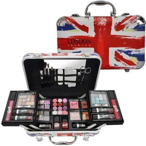 PALETTE DE MAQUILLAGE  Mallette de Maquillage - London Fashion - 62 Pcs
