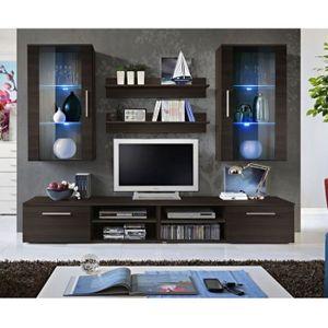 meuble tv a suspendre achat vente meuble tv a suspendre pas cher soldes cdiscount. Black Bedroom Furniture Sets. Home Design Ideas