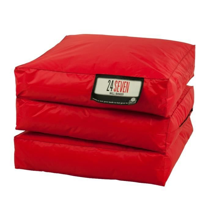 matelas d 39 appoint rouge achat vente pouf poire. Black Bedroom Furniture Sets. Home Design Ideas