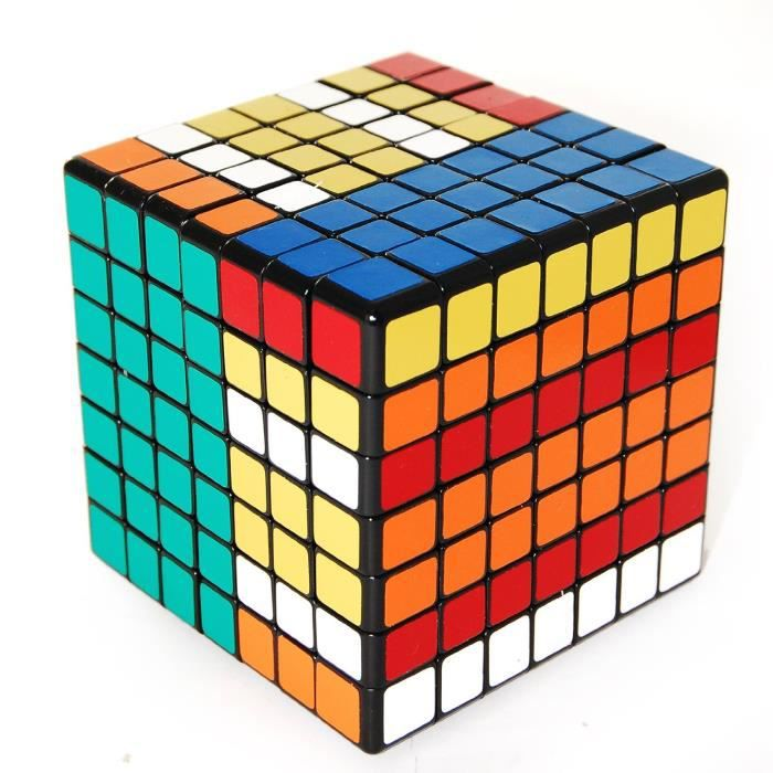adulte junior magique rubiks cube 7x7x7 cube 3d pu achat vente puzzle cdiscount. Black Bedroom Furniture Sets. Home Design Ideas