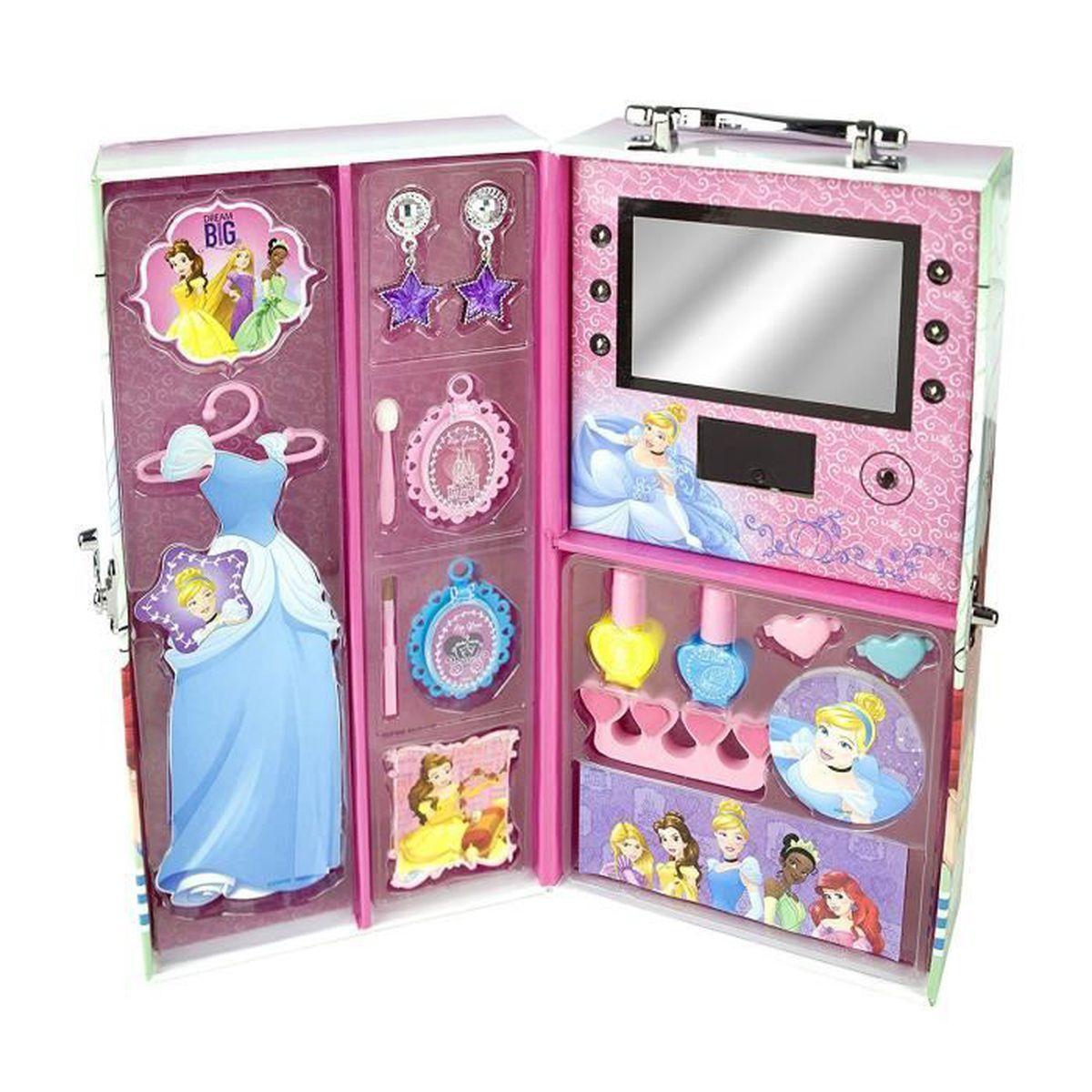 mallette armoire de maquillage princesses disney aille. Black Bedroom Furniture Sets. Home Design Ideas