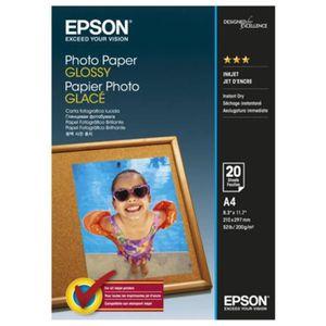 EPSON Papier photo brillant S042538 - 200g/m2 - A4 - 20 feuilles