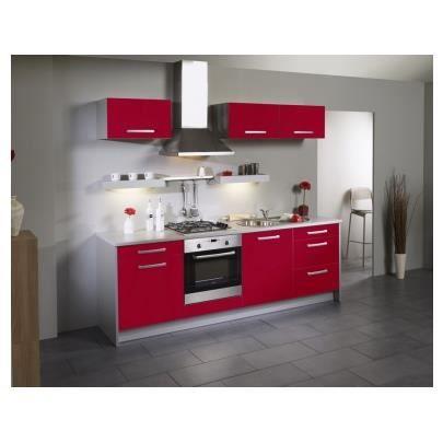 Meuble bas de cuisine pas cher mobilier sur enperdresonlapin for Cuisine complete rouge pas cher