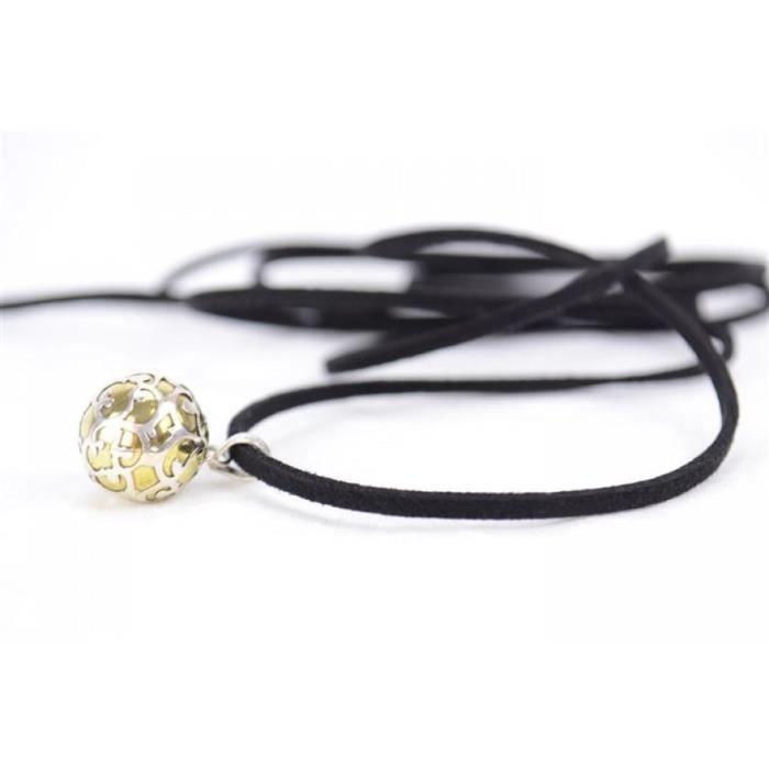 bola de grossesse pendentif b b zen laiton et argent diam 1cm achat vente bijou de. Black Bedroom Furniture Sets. Home Design Ideas