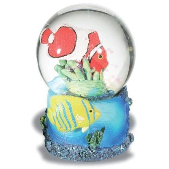 Boule de neige figurine poisson clown d cor mer achat for Achat poisson clown