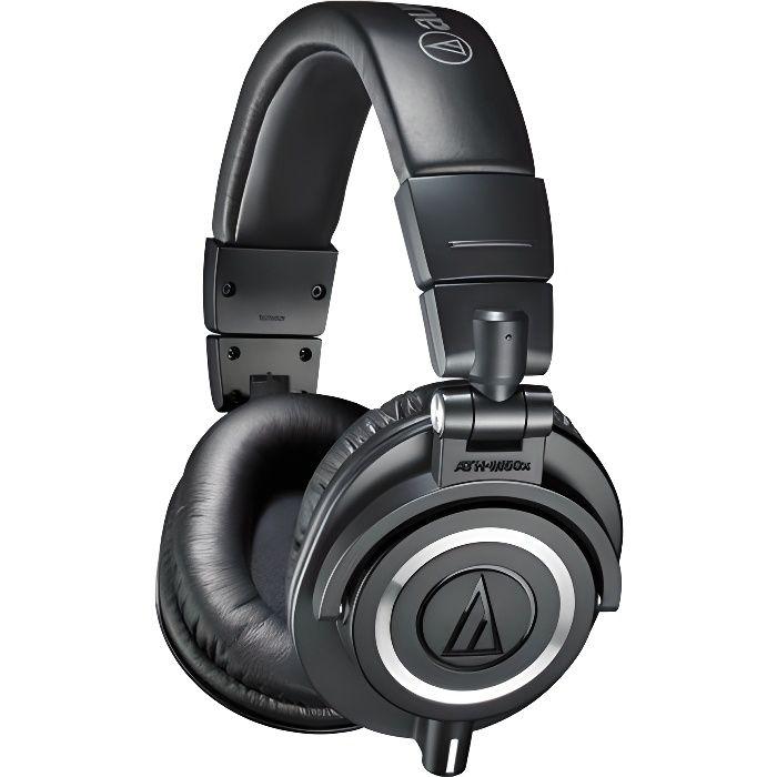 audio technica ath m50 x casque studio casque couteur audio avis et prix pas cher cdiscount. Black Bedroom Furniture Sets. Home Design Ideas