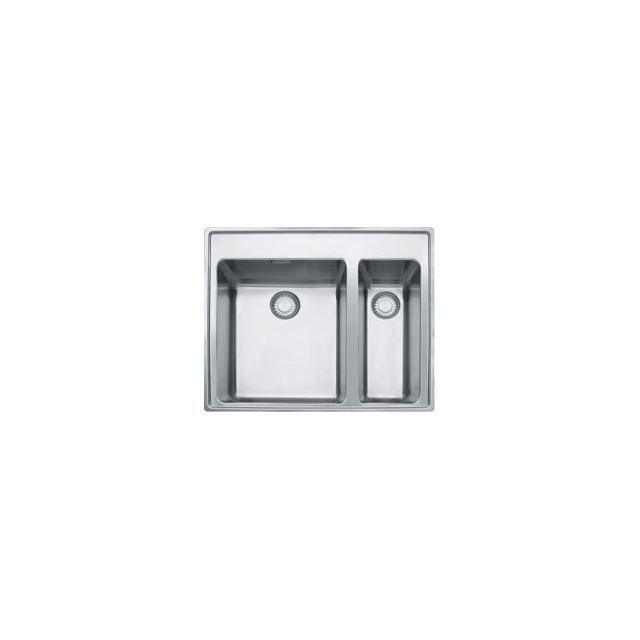 Eviers double cuves franke mythos inox mtx660 achat for Evier double inox