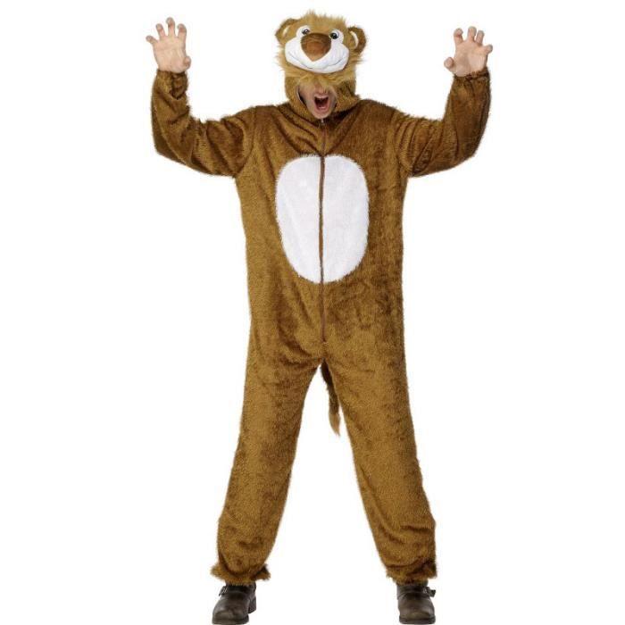 déguisement adulte lion