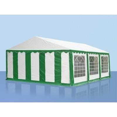 5x6m tente r ception pvc h 2 0m vert blanc achat vente tonnelle barnum 5x6m tente - Tente de reception brico depot ...