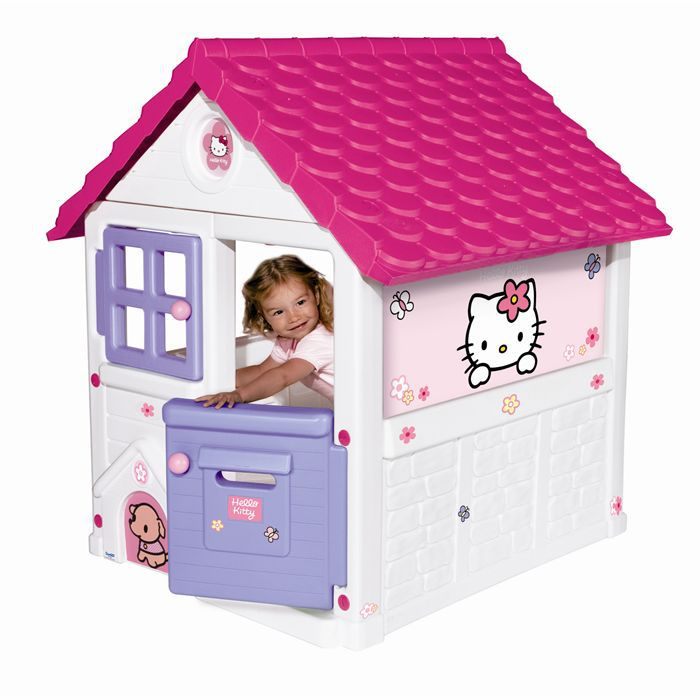 Smoby sweet home hello kitty achat vente maisonnette for Maisonnette smoby occasion
