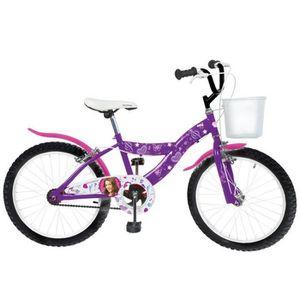 VÉLO DE VILLE - PLAGE Vélo disney violetta 20 pouces