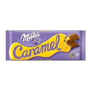 CHOCOLAT EN TABLETTE Milka Caramel 5 x 100g