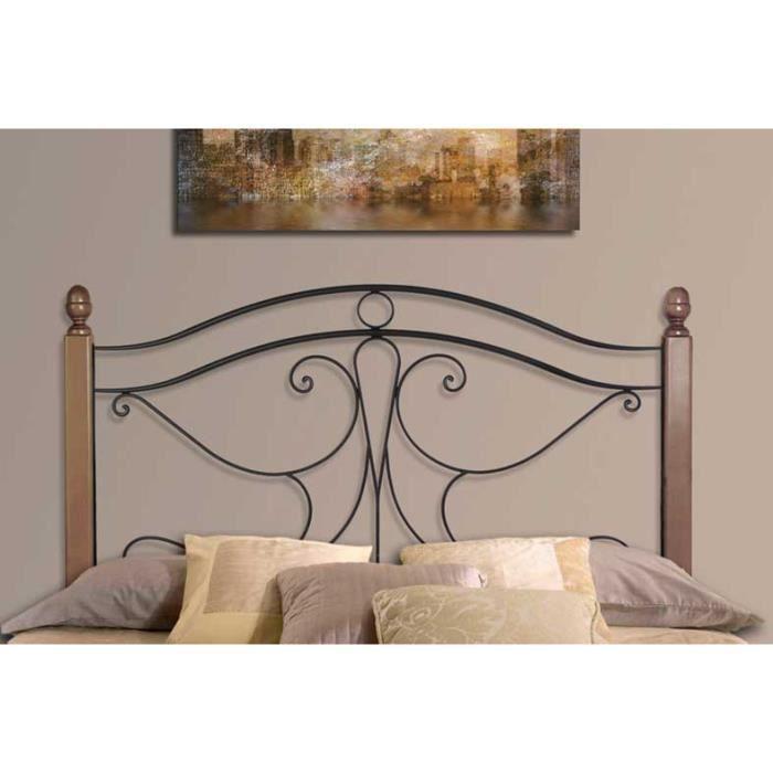 T te de lit avec barres en bois mod le viena achat vente t te de lit - Modele tete de lit en bois ...