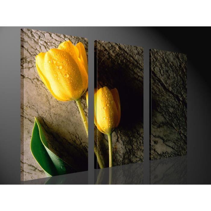 Tableau moderne imprim 130x80 tulipe achat vente tableau toile toile - Vente tableau moderne ...