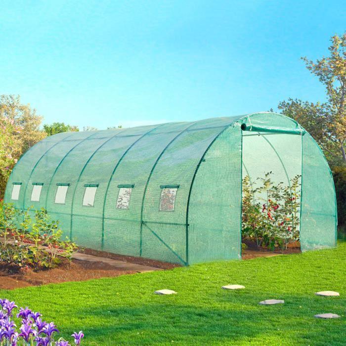 bache de rechange pour serre de jardin tunnel 6 achat. Black Bedroom Furniture Sets. Home Design Ideas