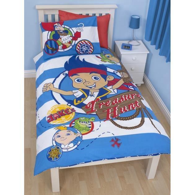 Pirate jake parure de lit r versible housse achat vente parure de co - Cdiscount parure de lit ...