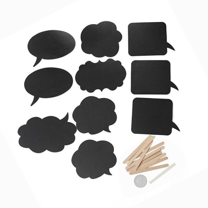 kit carte noire craie crire pour tableau photographie. Black Bedroom Furniture Sets. Home Design Ideas