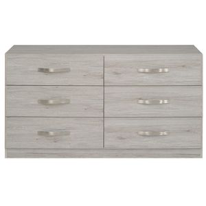 commode chene gris achat vente commode chene gris pas cher cdiscount. Black Bedroom Furniture Sets. Home Design Ideas