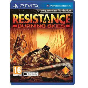 JEU PS VITA Resistance Burning Skies Jeu PS Vita