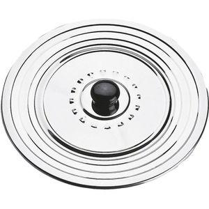 EQUINOX Couvercle anti-projection 28-30-32 cm gris