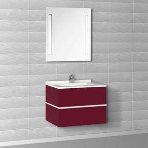 meuble salle de bain 105 cm achat vente meuble salle. Black Bedroom Furniture Sets. Home Design Ideas