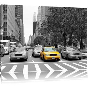 toile noir et blanc new york achat vente toile noir et blanc new york pas cher cdiscount. Black Bedroom Furniture Sets. Home Design Ideas