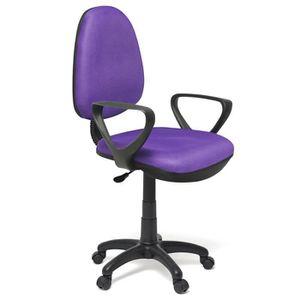 chaise de bureau mauve. Black Bedroom Furniture Sets. Home Design Ideas