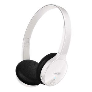 CASQUE - ÉCOUTEUR AUDIO PHILIPS SHB4000 Blanc - Casque audio Bluetooth - S