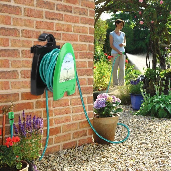 jardin eau tuyau buse jet d 39 eau vert extensible 10m tube flexible achat vente pompe arrosage. Black Bedroom Furniture Sets. Home Design Ideas