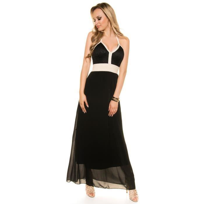robe longue noire voile la mode des robes de france. Black Bedroom Furniture Sets. Home Design Ideas