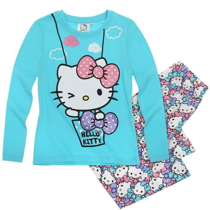 robes feminines pyjama hello kitty 3 ans. Black Bedroom Furniture Sets. Home Design Ideas