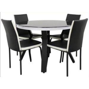 Table chaises achat vente table chaises pas cher - Ensemble table a manger et chaise pas cher ...