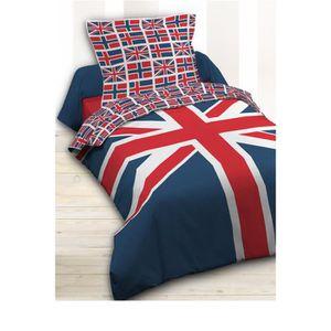parure de lit jack achat vente parure de lit jack pas. Black Bedroom Furniture Sets. Home Design Ideas