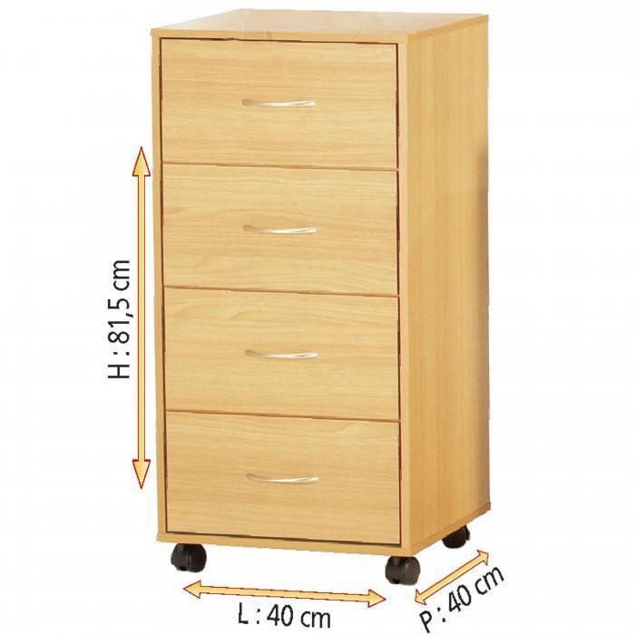 meuble rangement a roulette tiroir metal achat vente. Black Bedroom Furniture Sets. Home Design Ideas