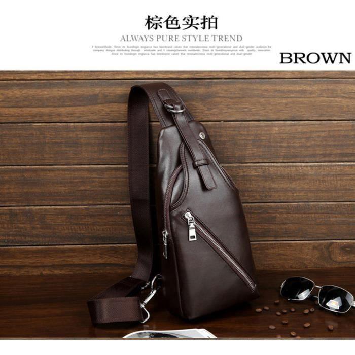 brun sacoche homme et sac d 39 paule la mode et pas cher bleu brun noir achat vente. Black Bedroom Furniture Sets. Home Design Ideas