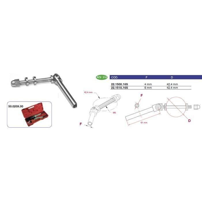 Mandrin pour cable 6 mm r glable achat vente rampe - Cable acier 6mm ...